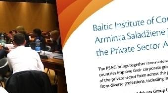 BICG Chairperson Arminta Saladžienė joins the Private Sector Advisory Group