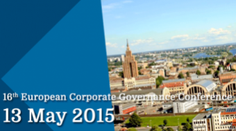 16th European Corporate Governance Conference