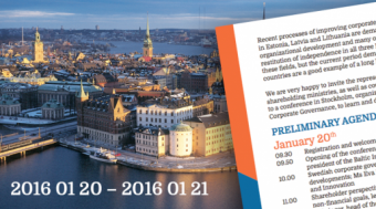A conference for the SOEs in Stockholm