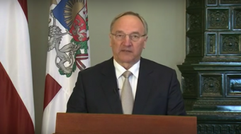 President Andris Bērziņš Keynotes, Carl Berneheim awarded honorary membership
