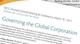 BICG AGM & Conference