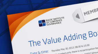 BICG Members event - May 30th in Vilnius