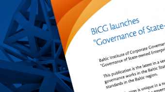 "BICG launches ""Governance of State-Owned Enterprises in the Baltic States"""
