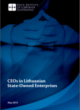 CEOs in Lithuanian State-Owned Enterprises