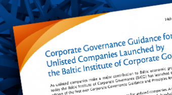 Guidance and Principles for Unlisted Companies in Latvian and Lithuanian