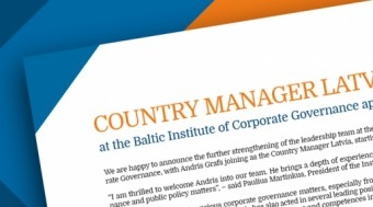 Country Manager Latvia appointed