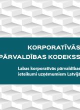 Good Corporate Governance Recommendations for Companies in Latvia