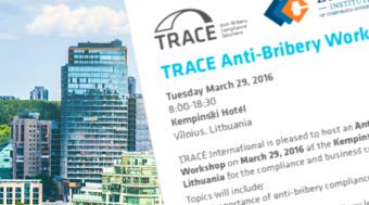 Anti-Bribery Workshop in Vilnius
