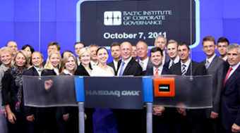 BICG  delegation rang Closing Bell at NASDAQ Stock Market