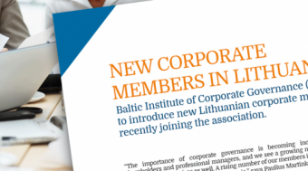 New Corporate Members in Lithuania