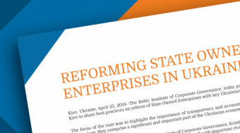 Reforming State-Owned Enterprises in Ukraine