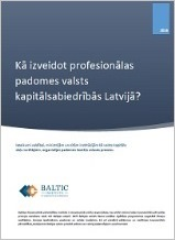 Recommendations for Nomination Process of Supervisory Board Members in Latvian SOEs