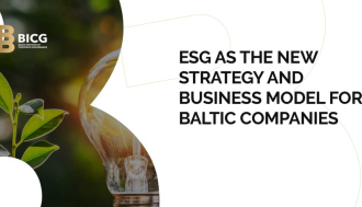 ESG as the New Strategy and Business Model for Baltic Companies